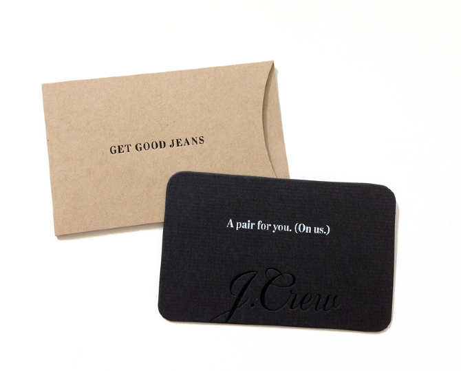 Check your J Crew gift card balance online, over the phone or in store. To check the gift card balance choose one of the following options.